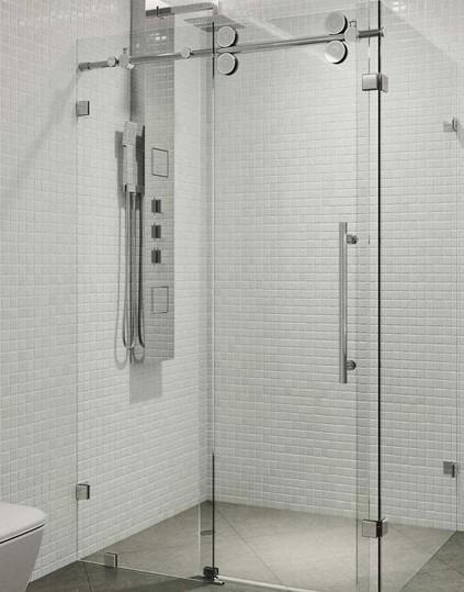 حمام شیشه ای با طرحی جدید
